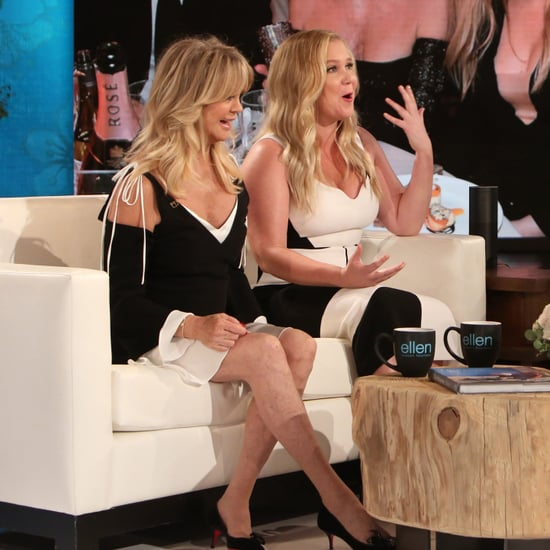 Amy Schumer and Goldie Hawn on The Ellen DeGeneres Show 2017