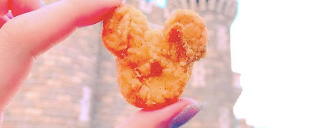 Tokyo Disneyland Mickey Mouse Chicken Nuggets
