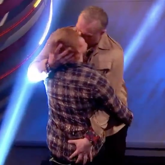 Ed Sheeran and Greg Davies Kiss For Comic Relief Charity