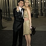 Kate Hudson hugged up close to her fiancé Matt Bellamy.