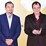 Leonardo DiCaprio and Quentin Tarantino at the Tokyo premiere of Once Upon a Time in Hollywood.