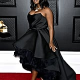 Dreezy at the 2020 Grammys