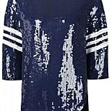 Tibi Baseball Sequin Blouse ($875)
