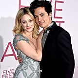 Cole Sprouse with his on and offscreen girlfriend, Lili Reinhart