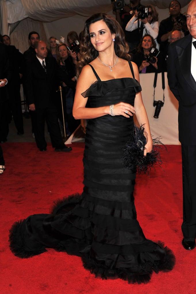 Penelope Cruz in Oscar de la Renta