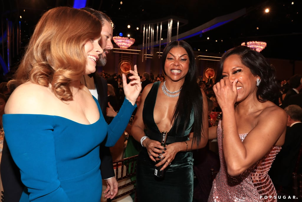 Pictured: Amy Adams, Darren Le Gallo, Taraji P. Henson, and Regina King