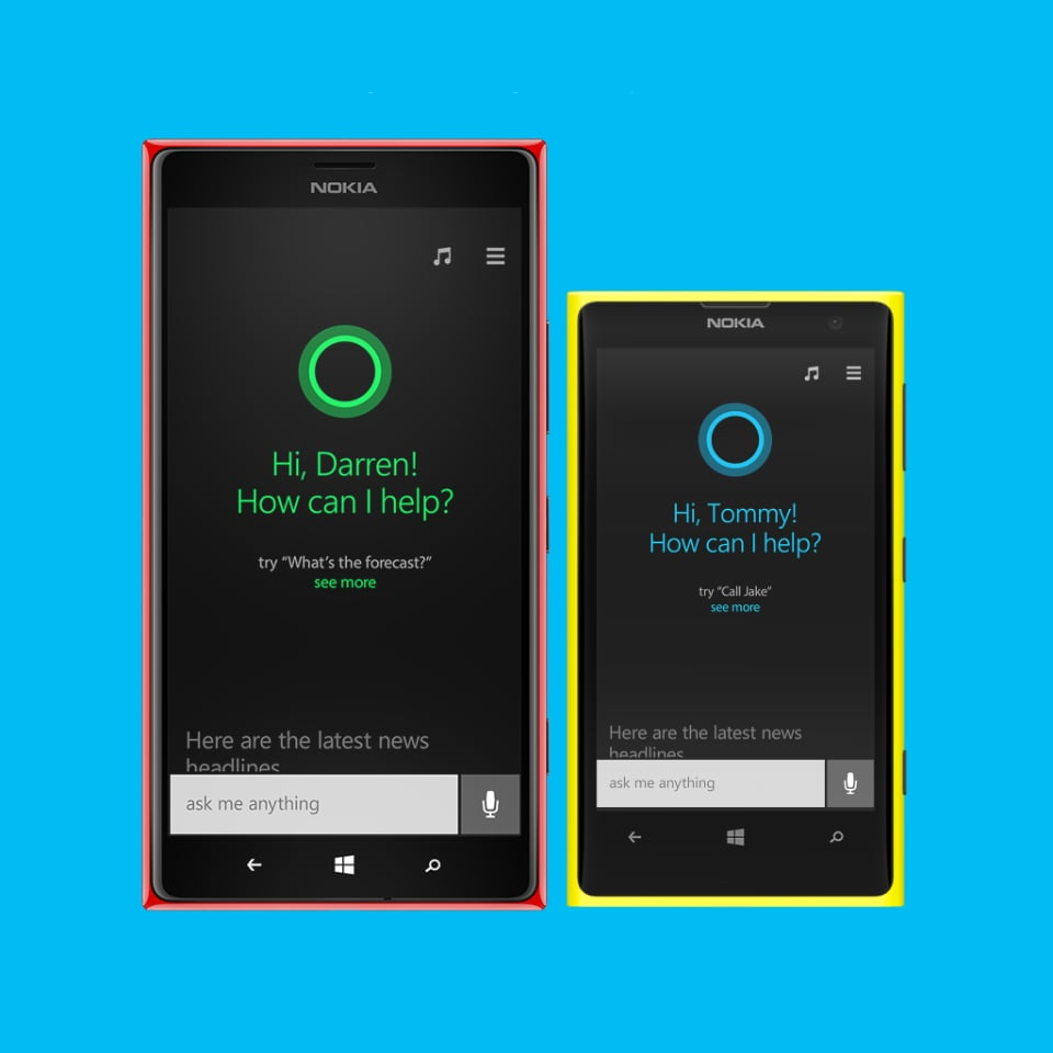 Cortana Windows Phone Voice Assistant