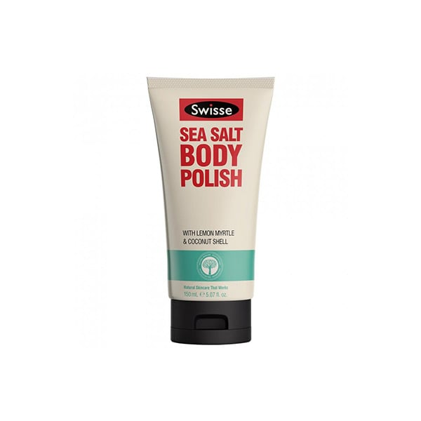 Swisse Sea Salt Body Polish, $11.89