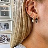 Melinda Maria Gabriella Spiked Hoop Earrings