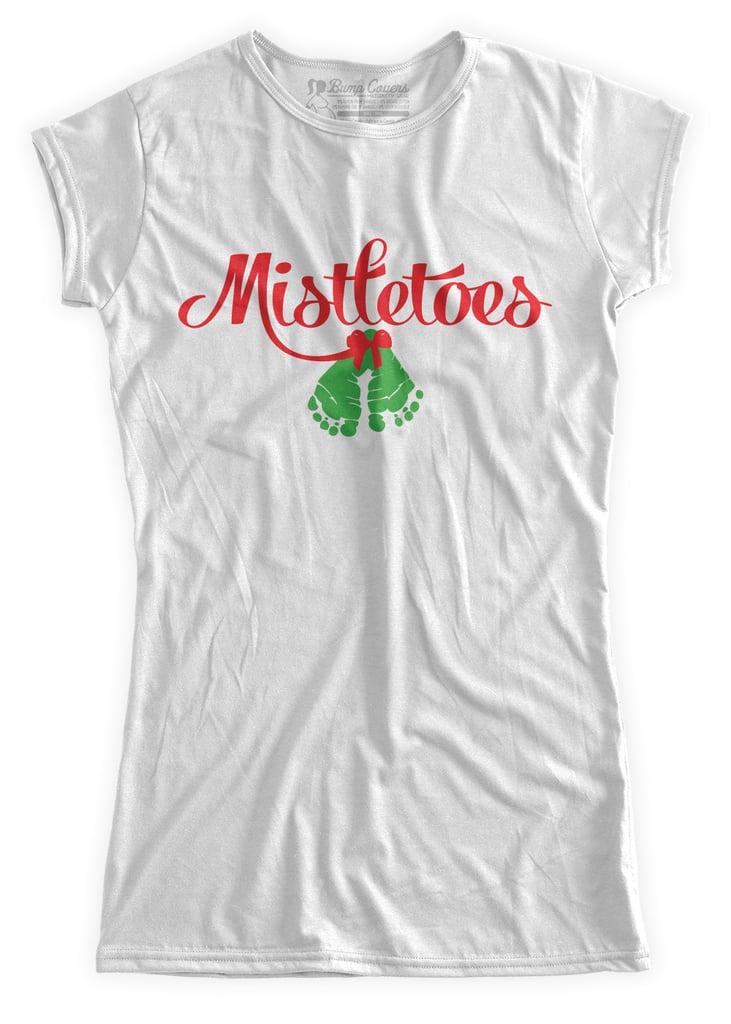 Mistletoes Pregnancy Shirt