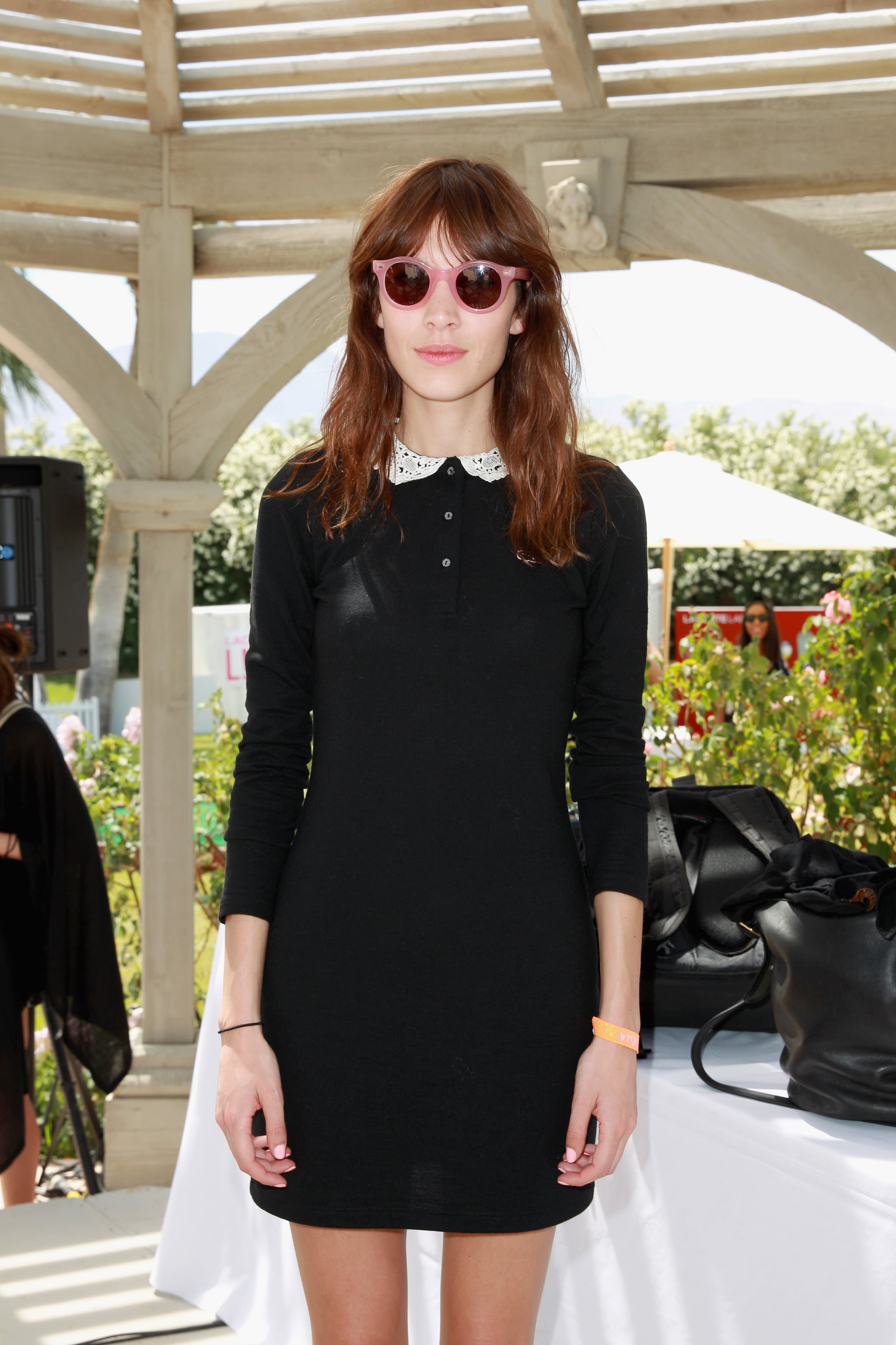 Alexa Chung made the rounds in 2013.