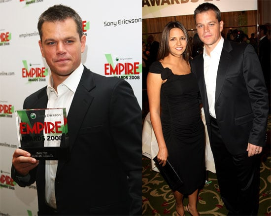 Matt Damon Expecting Baby