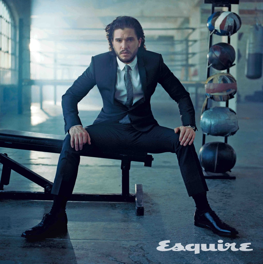 """Game of Thrones may be coming to an end next year, but our obsession with Kit Harington will never die. Ahead of the highly anticipated season seven premiere in July, Kit graces the cover of Esquire's June/July issue, and just like the title of George R. R. Martin's series A Song of Ice and Fire, it's making us melt.   The actor has become so well-known for his role as Jon Snow over the past six years, and even though he's ready to reinvent himself and """"get away from an image that's so synonymous"""" with the series, he is definitely grateful for the experience. """"Maybe this was the role I was always meant to play,"""" he told the magazine. As far as life after Game of Thrones, things are still up in the air. Kit revealed that he's just taking things one step at a time as he lives with his girlfriend and former costar, Rose Leslie. """"I'll enjoy the madness quieting a bit,"""" he added. """"I'd like a few years of relative obscurity."""" Well, we certainly hope that isn't the case!"""