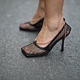 These gorgeous mesh Bottega heels will replace your favourite black heels.