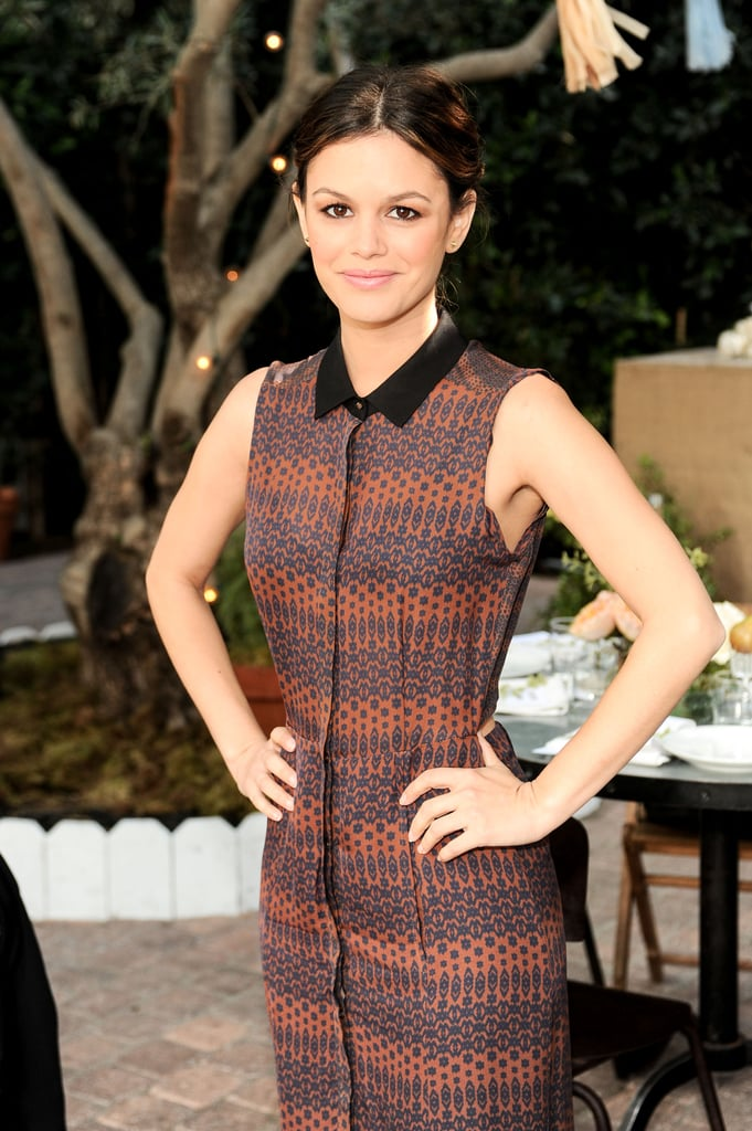 Rachel Bilson posed at ShoeMint's celebration.