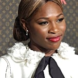 Serena Williams at the Louis Vuitton United Cancer Front Gala in 2004
