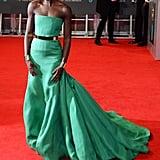 Lupita Nyong'o at 2014 BAFTAs