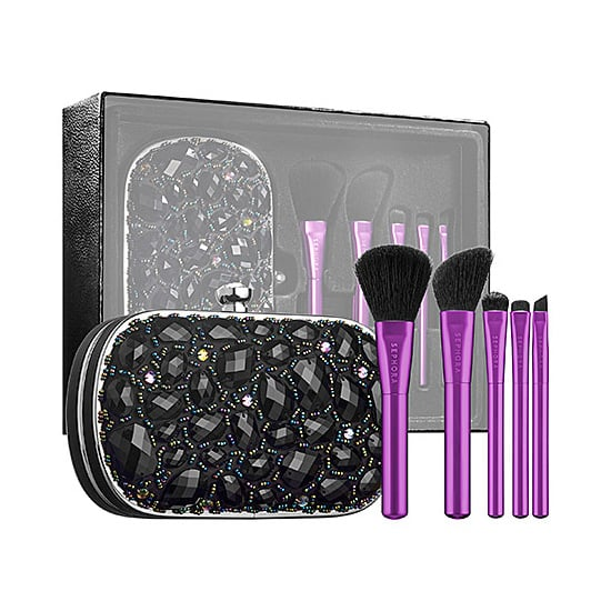 For the edgy girl in your life, Sephora Collection's Make an Entrance Clutch Brush Set ($59) will make a perfect gift.