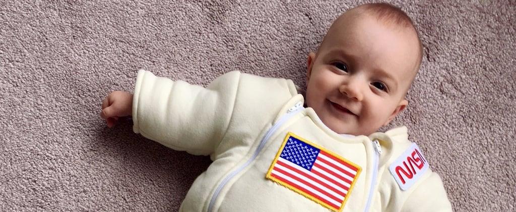 Dad Turns Onesie Into NASA Spacesuit