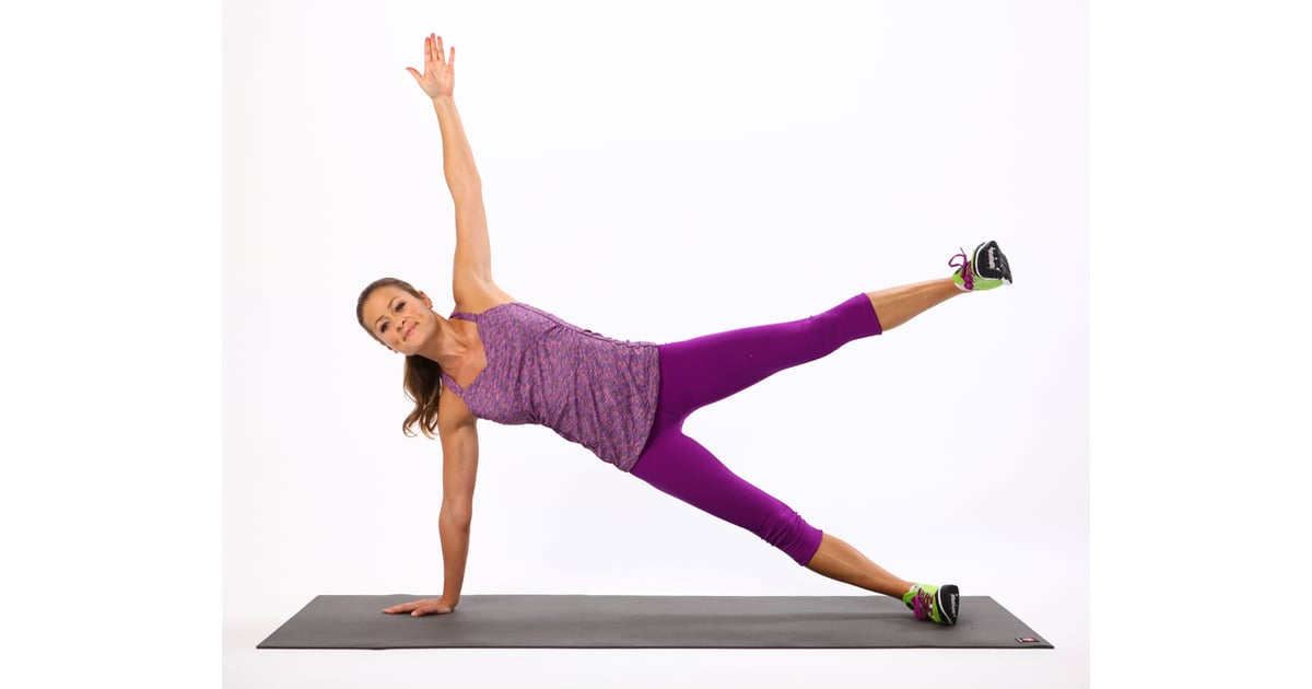 2. Side Plank With Leg Lift (Right Side) | Plank Workout ...