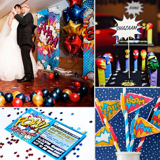 Creative Ideas For a Superhero Wedding