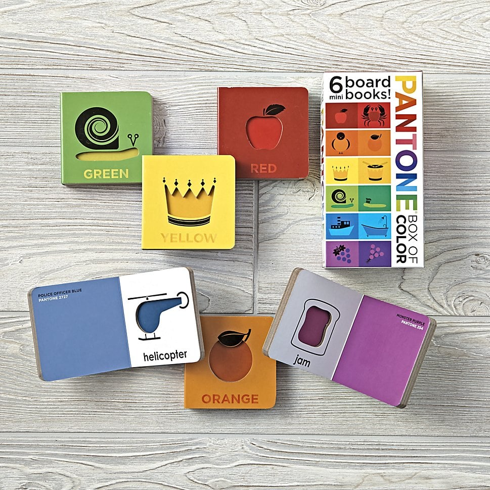 Pantone Box Of Color Book Set Gender Neutral Baby Shower Gifts