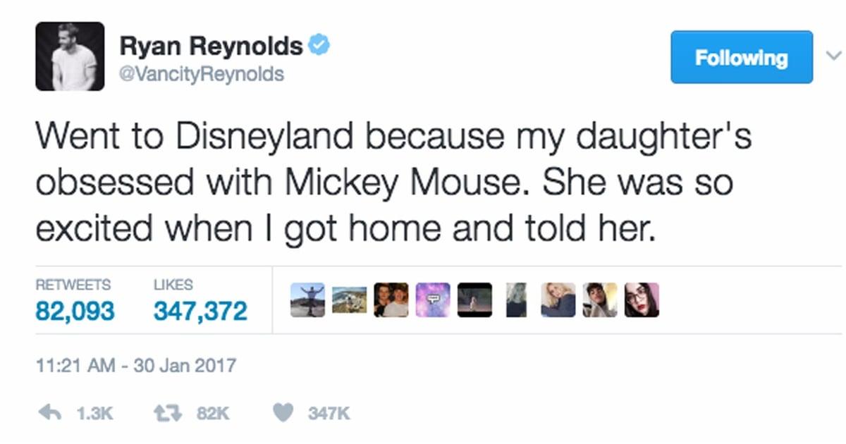 Ryan Reynoldss Funny Parenting Tweets POPSUGAR Moms - The 20 funniest tweets from parents since 2017