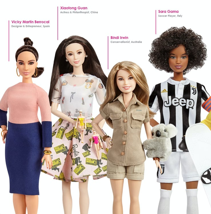 See If You Can Name All 17 of the Iconic Women Being Made Into Barbies