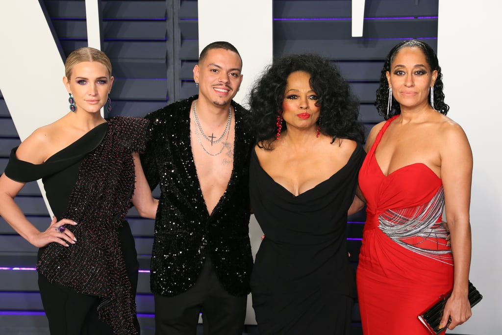 Diana Ross and Her Family at 2019 Oscars Afterparty