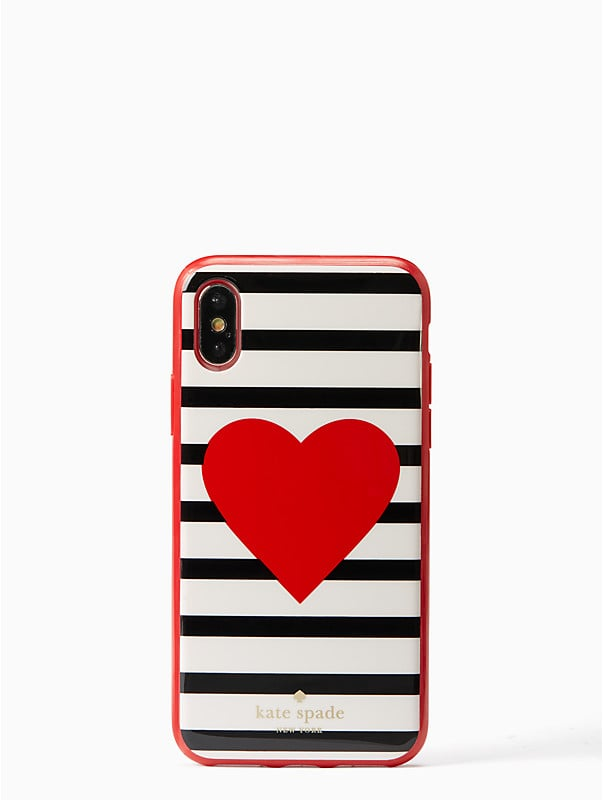 Kate Spade Heart Stripe Case