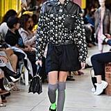 Kaia's Last Fashion Week Runway Walk Was at Miu Miu