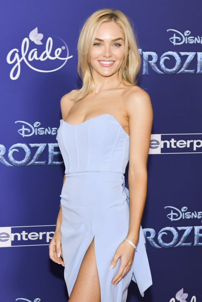 Michelle Randolph at the Frozen 2 Premiere in Los Angeles
