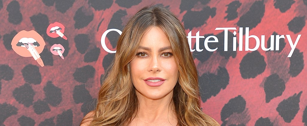 Sofia Vergara's Natural Hair Colour