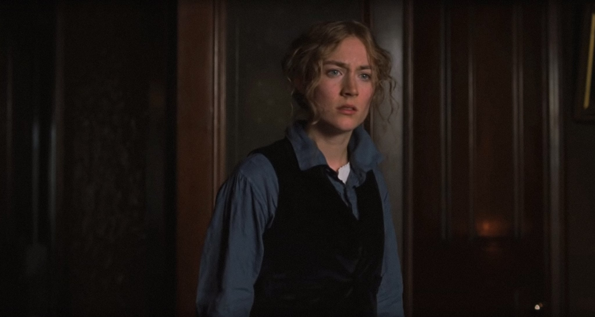LITTLE WOMEN, Saoirse Ronan as Jo, 2019.  Columbia Pictures / courtesy Everett Collection