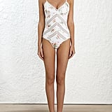 Zimmermann Heathers Pintuck Lace Swimsuit