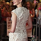 Anne Hathaway at the One Day Premiere