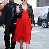 Ginnifer Goodwin Shows Off Her Baby Bump During an Outing in LA