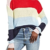 Hiatus Rainbow Stripe Sweater