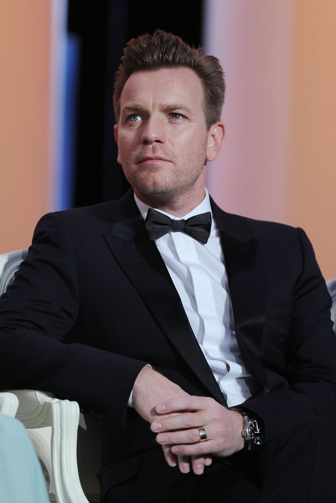 Ewan McGregor attended the opening ceremony of the 65th annual Cannes Film Festival.