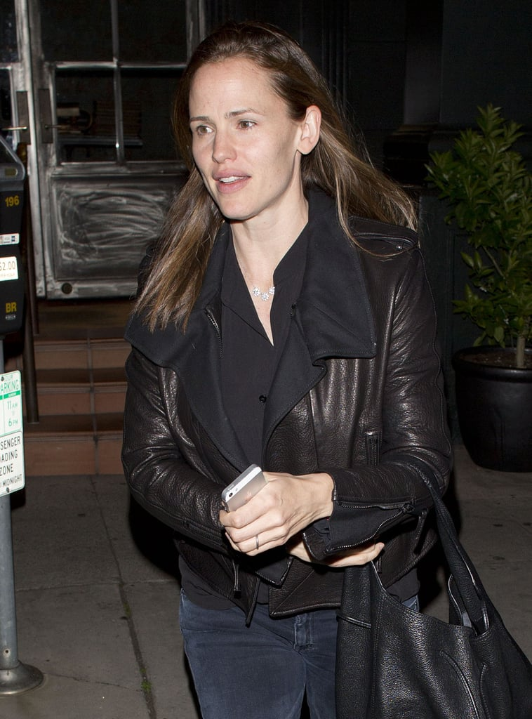 Jennifer Garner ate dinner at Tavern.