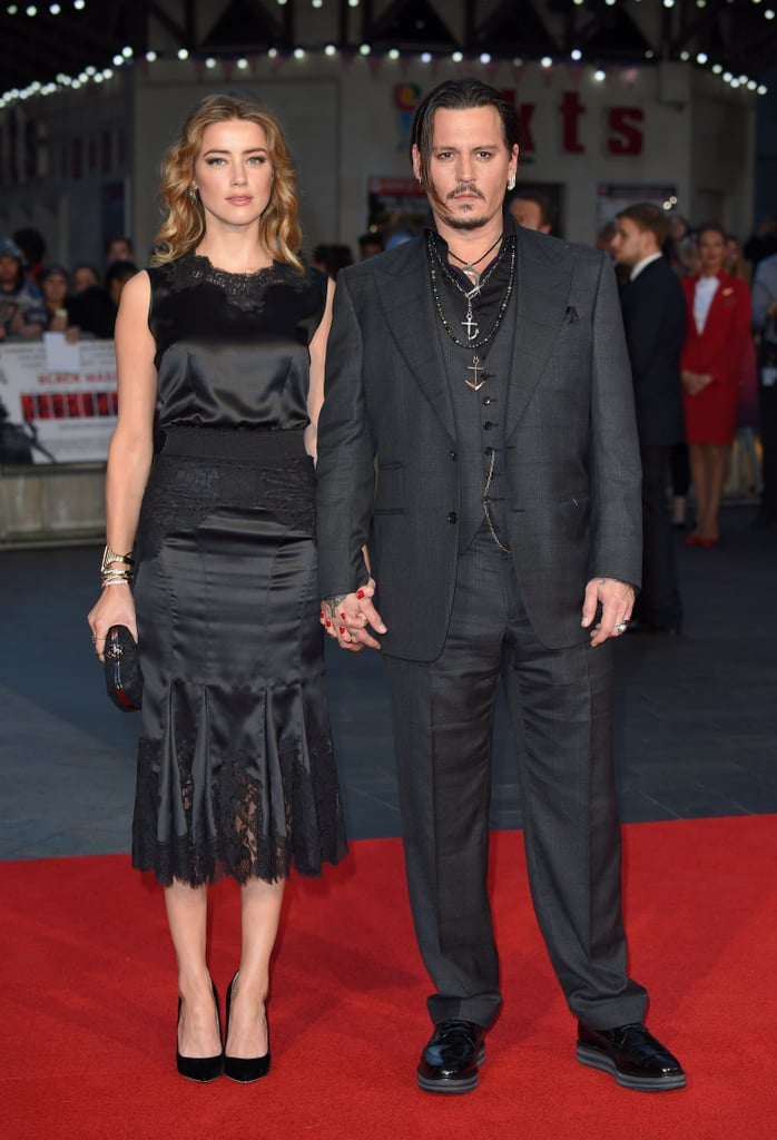 Johnny Depp and Benedict Cumberbatch couldn't have been any cuter alongside their other halves at the London screening of their new film, Black Mass, on Sunday. The event marked yet another stunning appearance for Johnny and Amber Heard, and throughout the night, Benedict and Sophie Hunter shared loving glances on the red carpet. Johnny and Amber's latest outing comes on the heels of a busy couple of months for the pair. After making their way to the Venice Film Festival in September, the couple jetted off to Toronto for the premiere of The Danish Girl, later flying to Brazil where things got emotional as they helped more than 200 Brazilians hear for the first time. Keep reading to see more snaps from the Black Mass premiere, then find out what Johnny recently revealed about his daughter's modelling career.