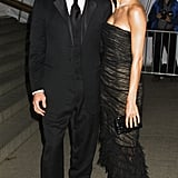 Angie Harmon and Jason Seahorn in 2001