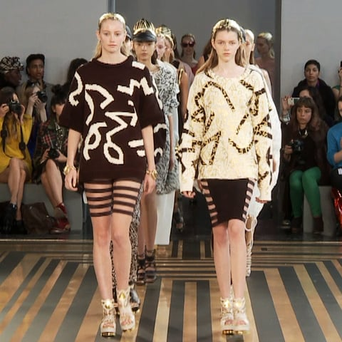 Topshop Unique Spring 2012 Runway Video