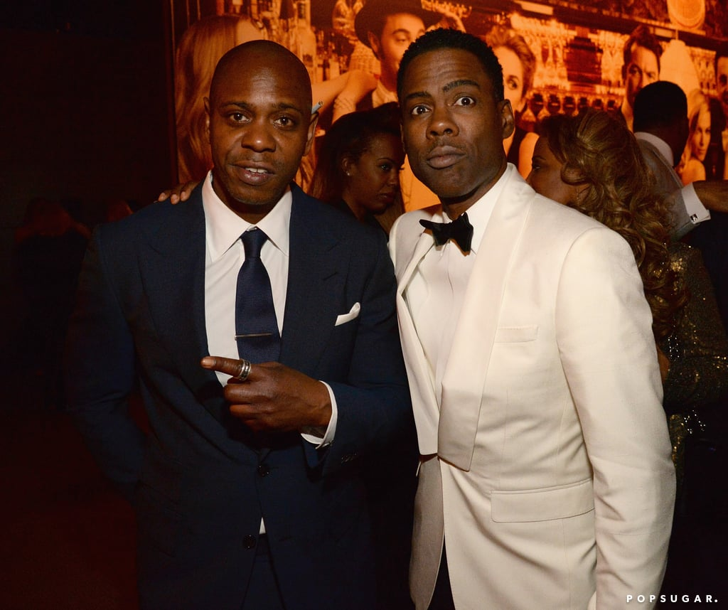 Pictured: Chris Rock and Dave Chappelle