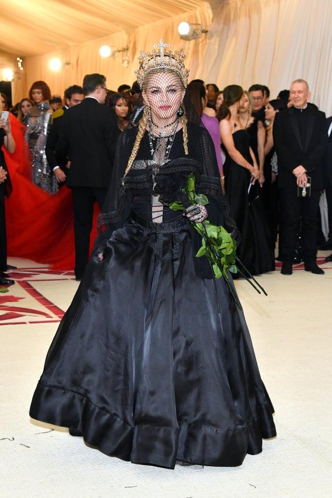 Madonna at the 2018 Met Gala Photos