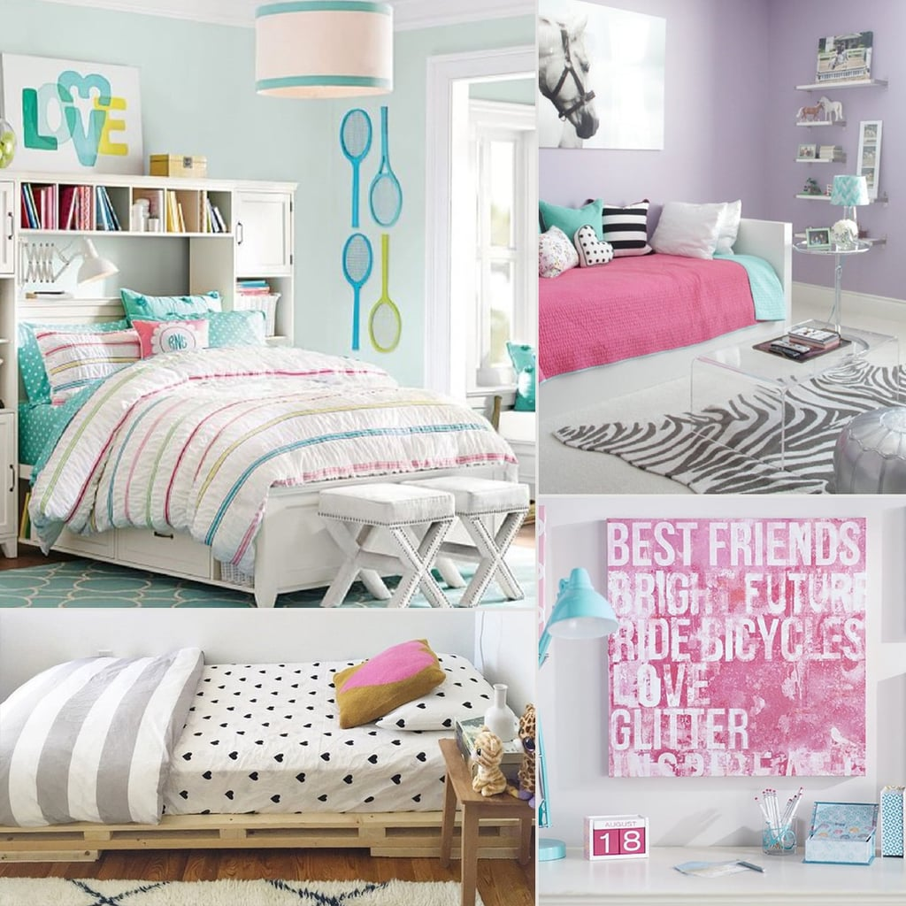 Tween girl bedroom inspiration and ideas popsugar moms How to decorate a bedroom for a teenager girl