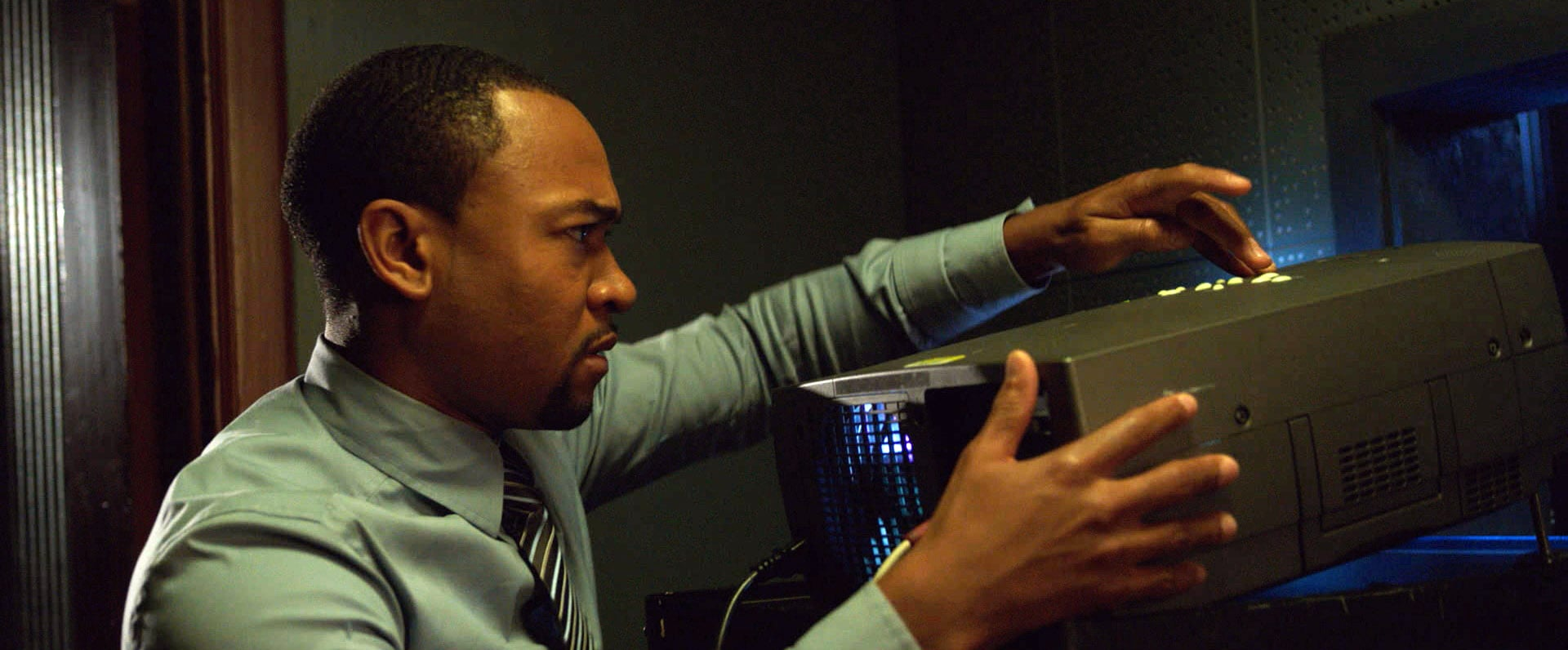 VERONICA MARS, Percy Daggs III, 2014. ph: Robert Voets/Warner Bros. Pictures/courtesy Everett Collection