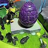 Mega Construx Crystal Creatures Topaz Dragon