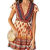 ZESICA Summer Wrap Dress