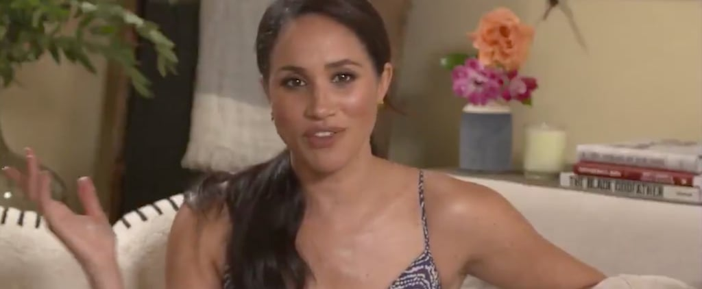 Meghan Markle Says Motherhood Made Her More Courageous Video